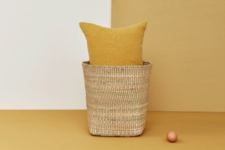 Hawkins New York Hawkins NY-Woven Basket - NATURAL