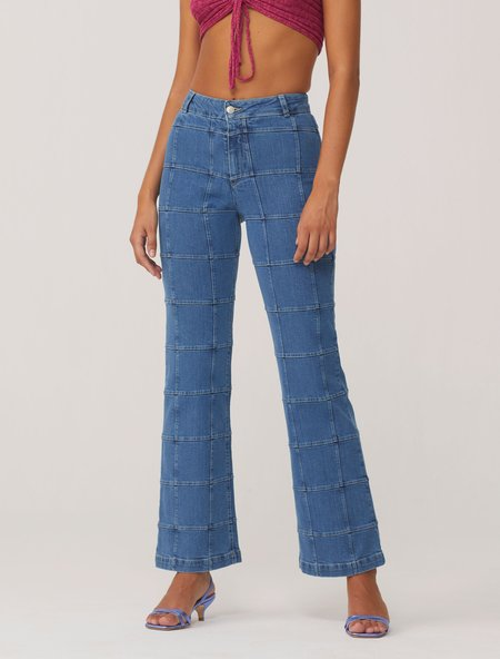 Paloma Wool Manolo Pant - Medium Denim