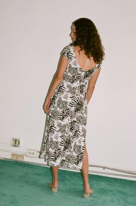 Maryam Nassir Zadeh Mila Dress in Onyx
