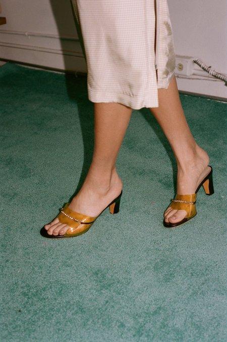 Maryam Nassir Zadeh Paloma Slide - Golden Marble
