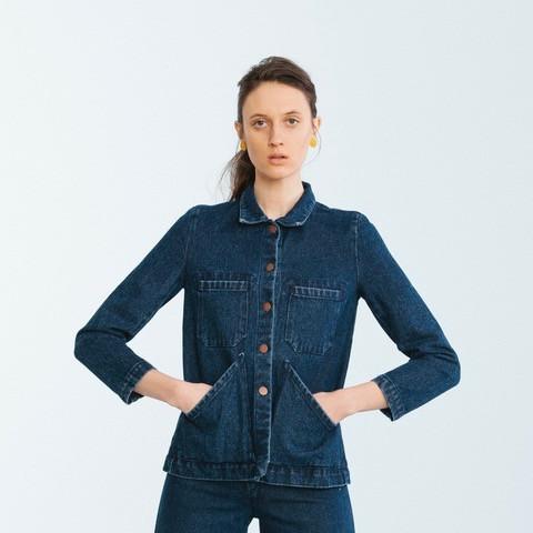 Carleen Triangle Pocket Jacket