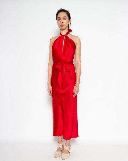 Looky Loo Babylon Dress - Crimson