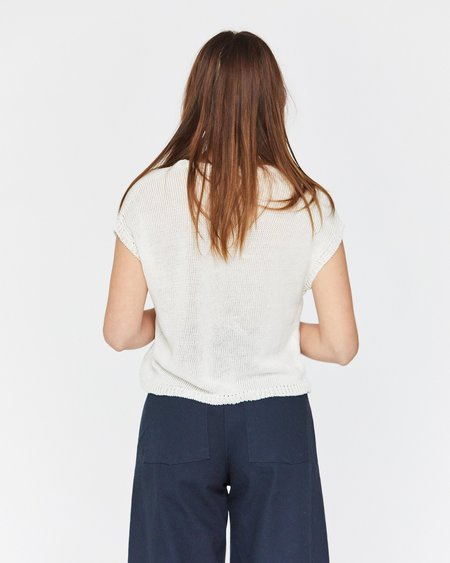 Esby LAUREL SWEATER TANK - QUARTZ