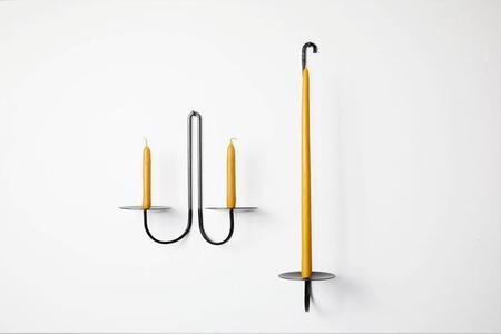 Fredericks+Mae-Candle Holder Iron One Arm
