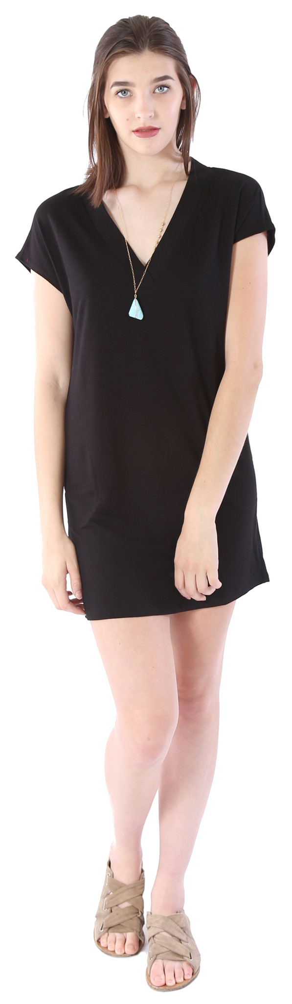 Lanston Cap Sleeve Dress