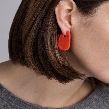 Jenny Bird Margo Earrings - Poppy