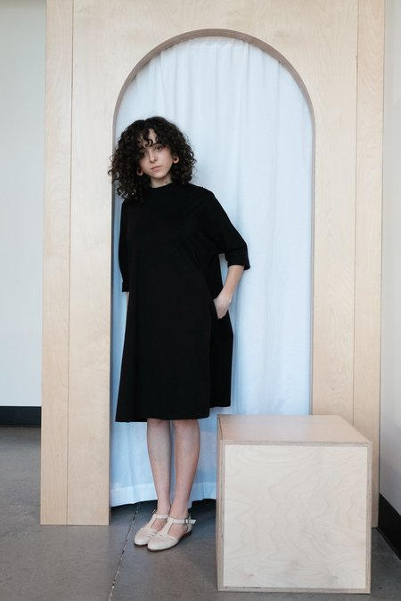 Kowtow Oversized Boxy Dress - Black