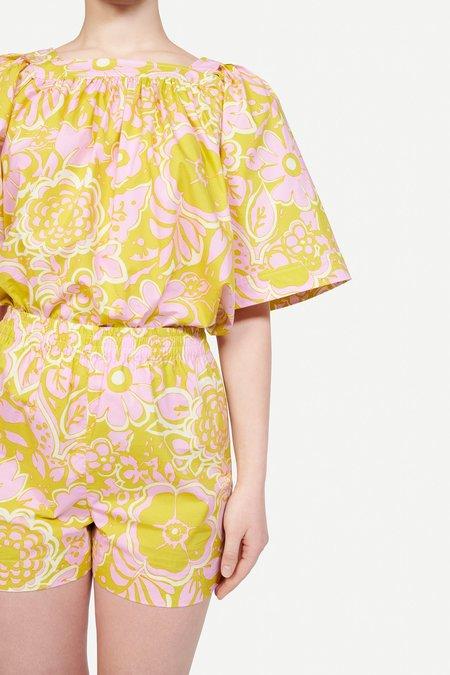 WHiT Mira Top - Ashbury Floral