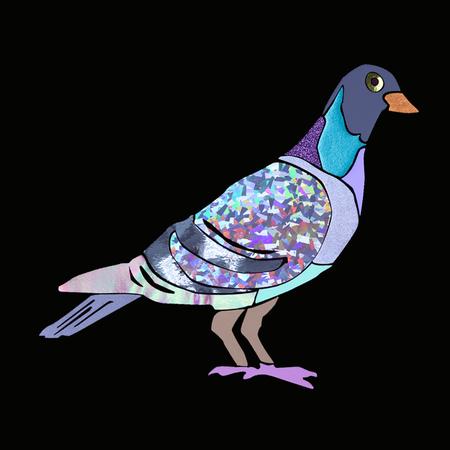 LB2 Studio Pigeon Crop T-Shirt