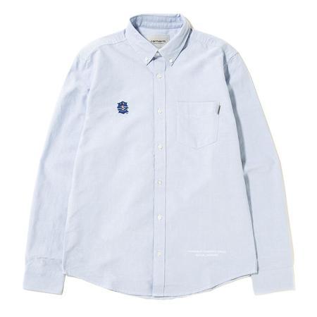Sporadic FRG Oxford Button Up - Blue