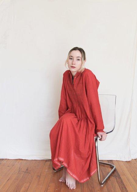 Injiri India Elizabeth Dress - Red
