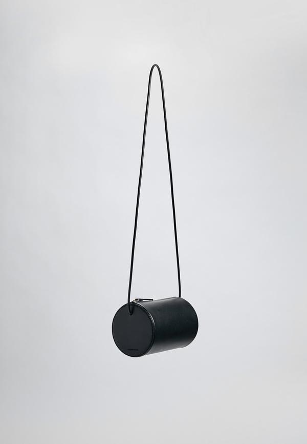 Building Block Cylinder Sling - Black Leather