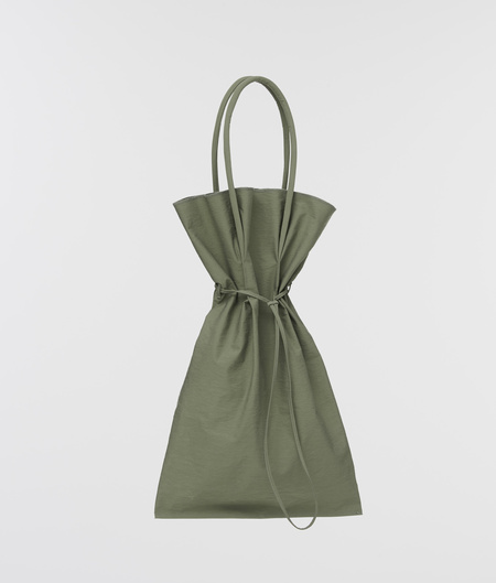 Building Block XL Crinkle Tote Bag - Sage