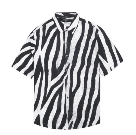 Ksubi Animal S/S Shirt - Black/White