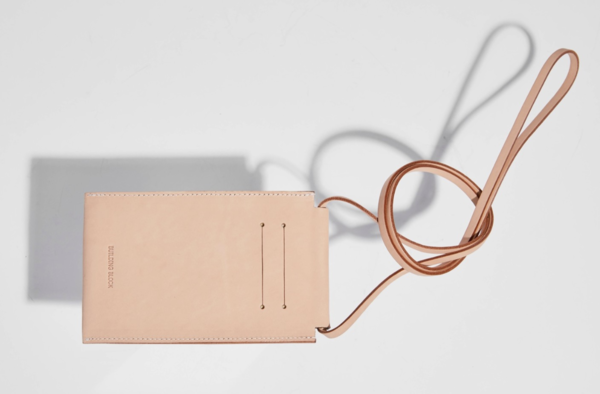 Building Block iPhone sling - Tan Leather