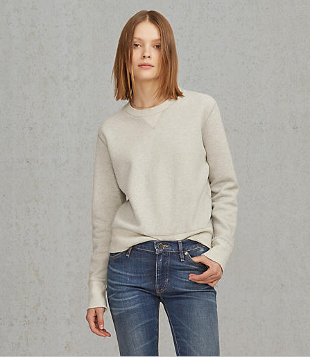 Levis Made & Crafted Crew Neck Sweatshirt