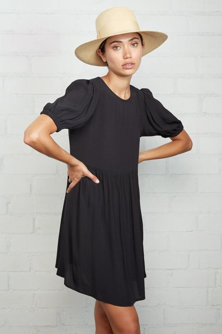 Rachel Pally Crepe Carrington Dress - Black