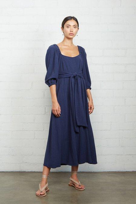 Rachel Pally Linen Eris Dress - Indigo