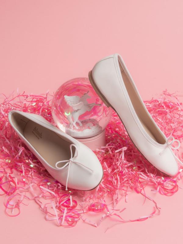 blush. Pearl Flat - Bianco