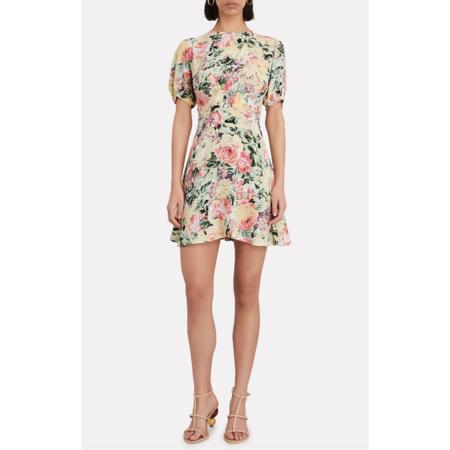 Faithfull The Brand Sidonie Mini Dress - Venissa Floral Print