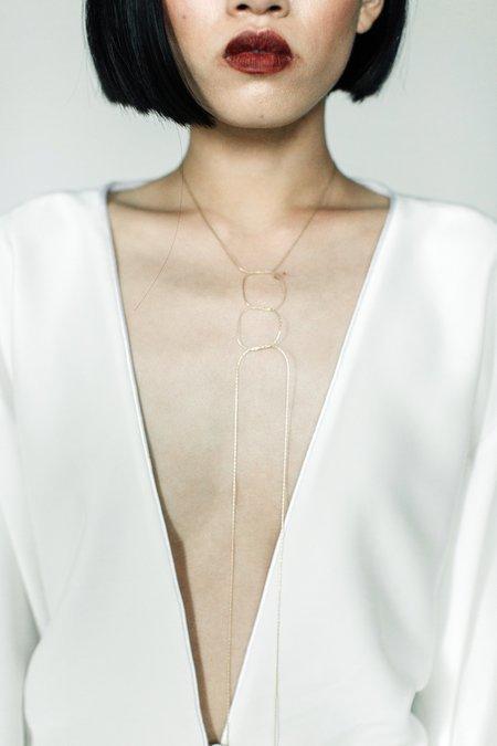 A. B. Ellie Knots Strand Necklace