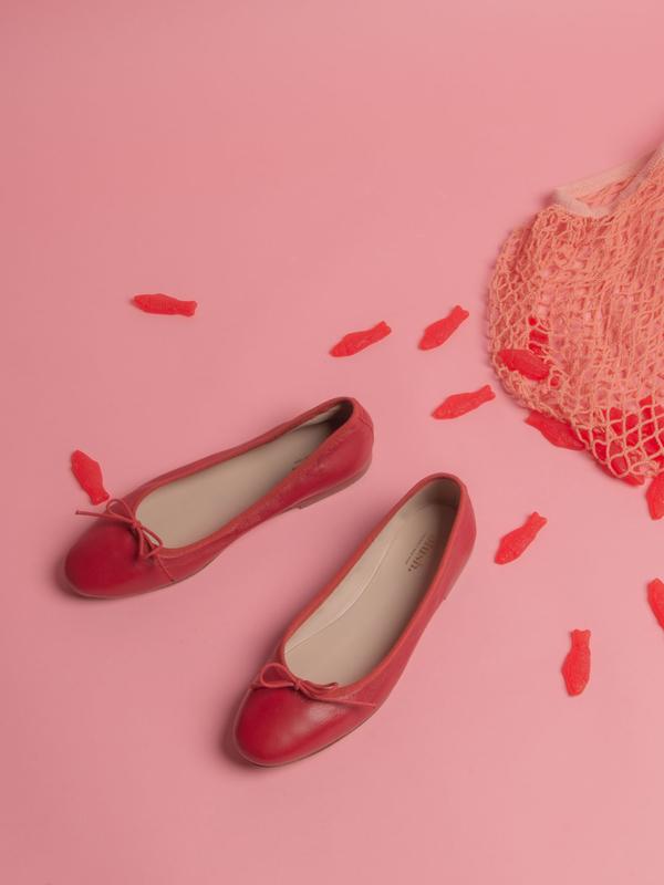 blush. Spring Flat - Rosso