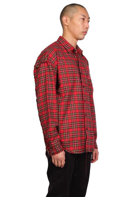 Mastermind World Shirt - Red Check
