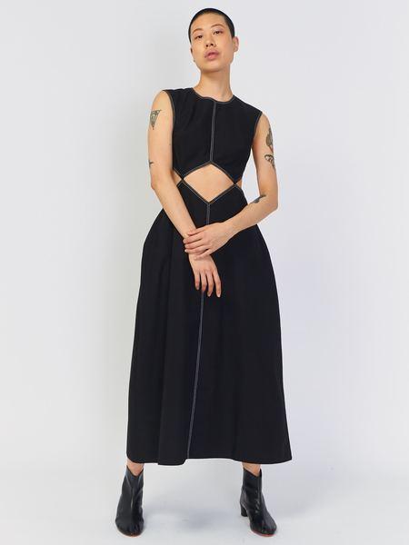 J. Kim Dress with Squares