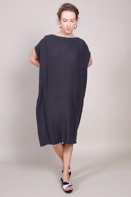 Black Crane Box Dress - Black