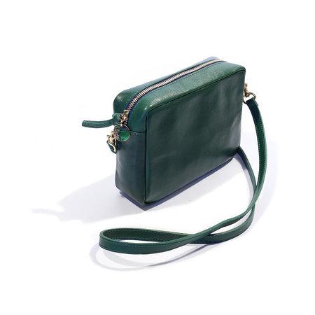 Clare V. Midi Sac - Rustic Evergreen