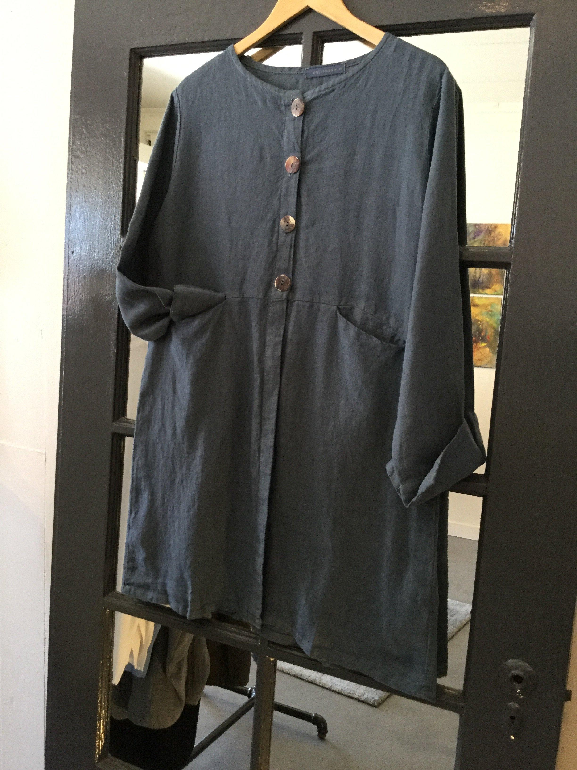 Mme Cut Loose Linen Jacket Garmentory