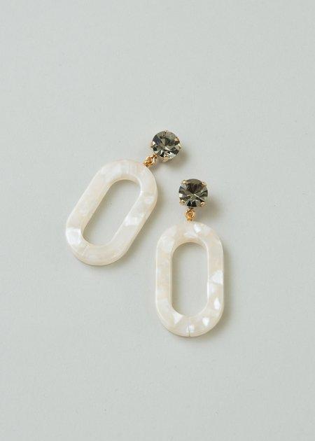 Rachel Comey Celeste Earring - Black Diamond