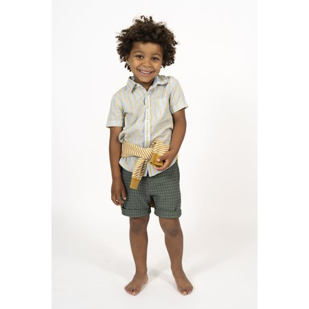 simple kids salvador short - green