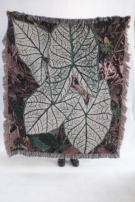 Beklina Throw Blanket Costa Rica Leaf