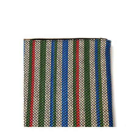 Clare V. Flat Clutch - Garden Stripe