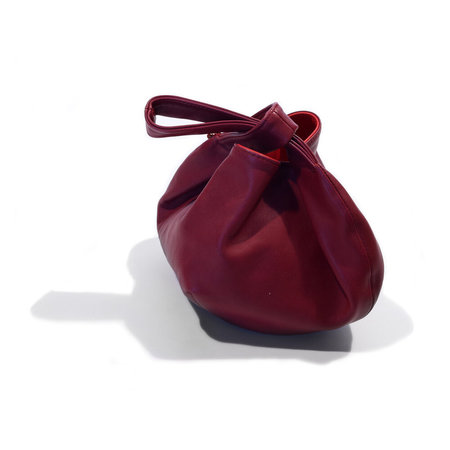 Clare V. Chou Chou - Oxblood Nappa Leather