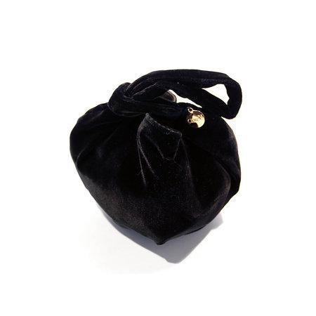 Clare V. Chou Chou - Black Silk Velvet