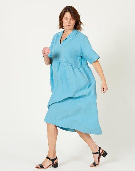 Ilana Kohn Kimbo Dress - Surf Linen