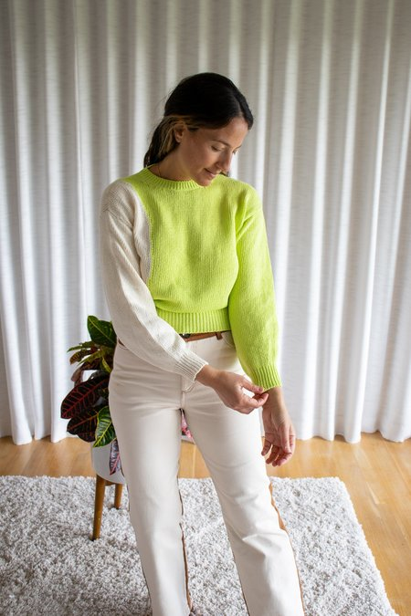 Paloma Wool Camu Top - Light Olive Green