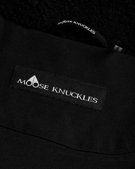 MOOSE KNUCKLES Stirling Parka - Black / Black