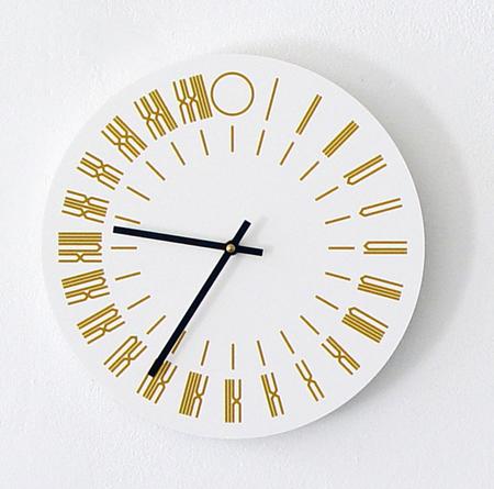 The Thing Quarterly x Tauba Auerbach 24-Hour Clock