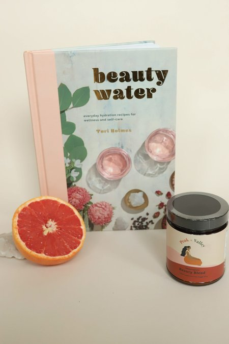 Dear Society Beauty Water Book + Beauty Blend Gift Set