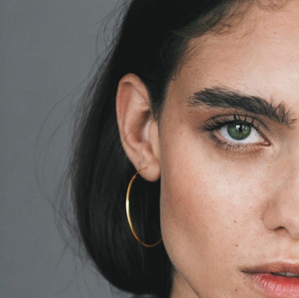 Mod + Jo Gwen Hoop Earrings - Gold