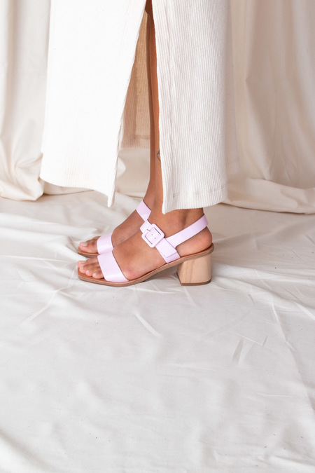 Nelson Made FREDA SANDAL - Lilac