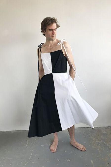 Eliza Faulkner Harley Dress - Black/White