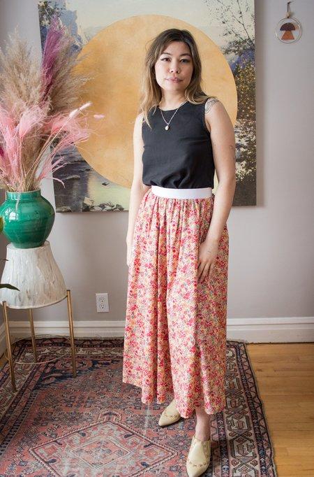 Eliza Faulkner Varsity Skirt - Print