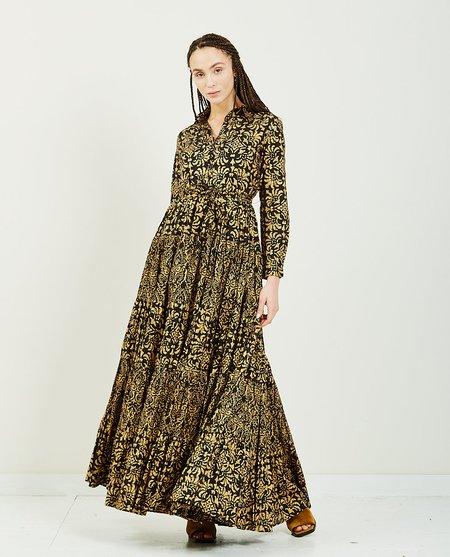 Mes Demoiselles Dress Marathi - BLK/GOLD