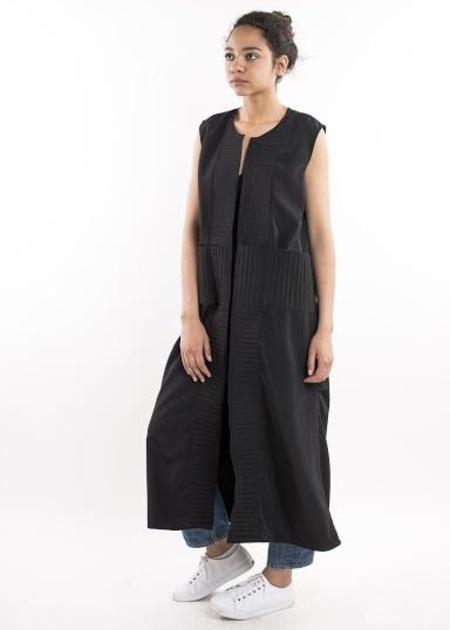 Becca Jill Stitched vest - Black