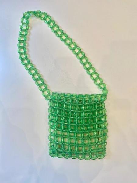 VINTAGE 1960's Italian Beaded Bag