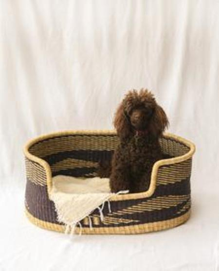 beaumont organic NANDI Handwoven Dog Basket